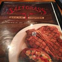 Photo taken at Saltgrass Steak House by Mark S. on 10/9/2012