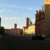 Photo taken at Piazza Sordello by Cesare F. on 11/9/2012