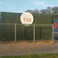 Photo taken at Hank Aaron 715 Home Run Marker by Vedda M. on 3/15/2016