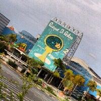Photo taken at Parque D. Pedro Shopping by Eduardo R. on 1/3/2013