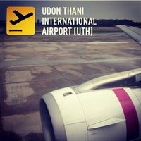 Photo taken at Udon Thani International Airport (UTH) by Sukij D. on 5/20/2013