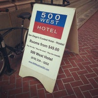 Photo taken at 500 West Hotel by Andy S. on 10/15/2012