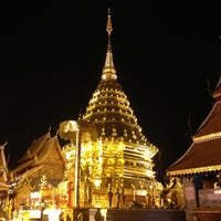 Photo taken at Wat Phrathat Doi Suthep by OhmCNX on 2/25/2013