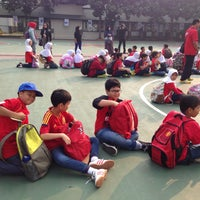 Photo taken at Sekolah Al-Azhar BSD by Liah R. on 10/27/2015