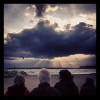 Photo taken at Playa Luna Beach by Kolja on 3/29/2013