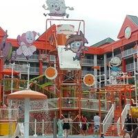 Photo taken at Nickelodeon Suites Resort by Nic L. on 6/16/2013