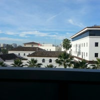 Photo taken at Ibis Hotel Sevilla by Ali B. on 11/20/2013