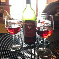 Photo taken at Vynecrest Vineyard & Winery by Regina C. on 5/5/2014