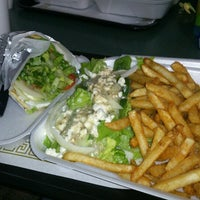 Photo taken at Fresh Greece Pizza and Grill by Brian S. on 10/28/2012