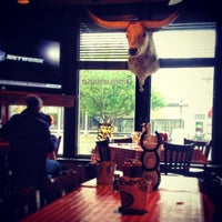 Photo taken at Steamboat Smokehouse by oriol m. on 9/27/2013