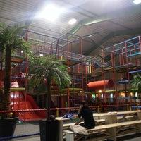 Photo taken at Speelparadijs Harrewar by Mark v. on 12/25/2012