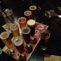 Photo taken at BJ's Restaurant and Brewhouse by Katie A. on 4/1/2013