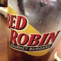 Photo taken at Red Robin Gourmet Burgers by Karl P. on 6/21/2013