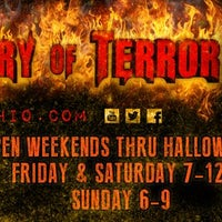 Photo taken at The Factory of Terror Haunted House by The Factory of Terror Haunted House on 10/7/2013
