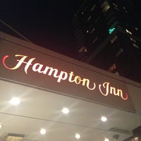 Photo taken at Hampton Inn Manhattan Times Square North by Jill H. on 10/1/2013