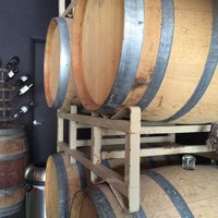 Photo taken at Trahan Winery by sandra m. on 5/8/2014