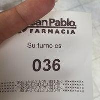 Photo taken at Farmacia San Pablo by nOemak H. on 11/30/2016