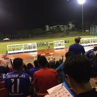 Photo taken at Stadium UKM by VORINDOM on 11/27/2016