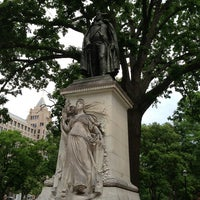 Photo taken at Franklin Square Park by Gina B. on 5/23/2013