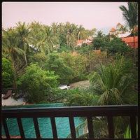 Photo taken at Lamai Buri Resort by Teerapote C. on 5/24/2013