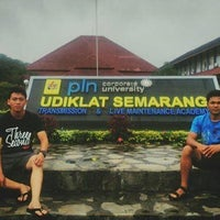 Photo taken at PT PLN (Persero) Udiklat Semarang by stevanus l. on 2/2/2014