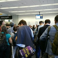 Photo taken at Gate 75 by Gary M. on 9/28/2015