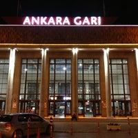 Photo taken at Ankara Garı by İBRAHİM Y. on 6/10/2013