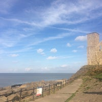 Photo taken at Reculver Towers and Roman Fort by Dan C. on 10/15/2016