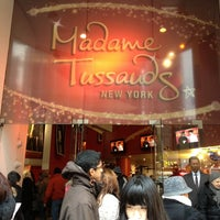 Photo taken at Madame Tussauds New York by Vinnie L. on 12/27/2012