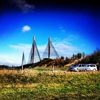 Photo taken at Martinus Nijhoffbrug by Eddy v. on 10/28/2012