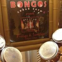Photo taken at Bongo's Cuban Cafe by Ingrid F. on 2/9/2013
