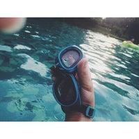 Photo taken at Swimming Pool Bumi CIMB Niaga by revino f. on 6/16/2013
