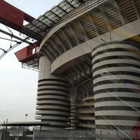 "Photo taken at Stadio San Siro ""Giuseppe Meazza"" by Денис С. on 4/6/2013"