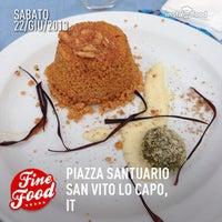 Photo taken at San Vito Lo Capo by Giuseppe M. on 6/22/2013