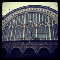 Photo taken at Torino Porta Nuova railway station (TPY) by Giuseppe M. on 10/27/2012