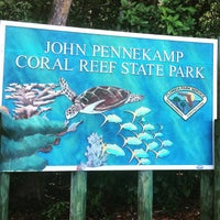 Photo taken at John Pennekamp Coral Reef State Park by Dmytro G. on 6/19/2015