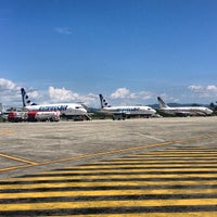 Photo taken at Sentani International Airport (DJJ) by Stevi P. on 7/3/2013