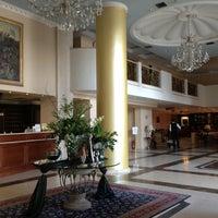 Photo taken at Grand Hotel Palace by GöKnur E. on 4/25/2013