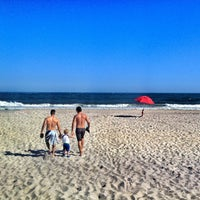 Photo taken at Fire Island Pines Beach by Tochtli G. on 6/20/2013