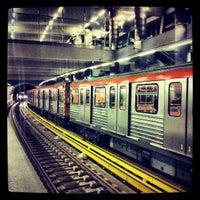 Photo taken at Syntagma Metro Station by Pavlos B. on 12/21/2012