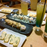 Photo taken at Sushi Tei by Fitria Rizka U. on 5/7/2013