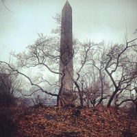 Photo taken at The Obelisk (Cleopatra's Needle) by Racky R. on 1/12/2013
