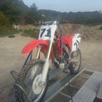 Photo taken at Πιστα Motocross by Manolhs F. on 3/8/2013