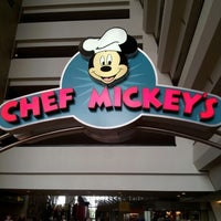 Photo taken at Chef Mickey's by Daniel C. on 11/16/2012