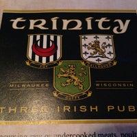 Photo taken at Trinity Three Irish Pubs by Patrick O. on 3/11/2013