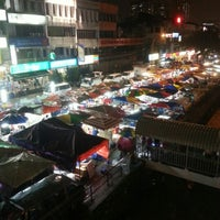 Photo taken at Pasar Malam Taman Connaught 康乐 by Tata T. on 11/28/2012