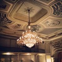 Photo taken at Teatro Carlos Gomes by Naila M. on 9/12/2013
