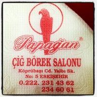 Photo taken at Papağan Çibörek by Magazin A. on 3/18/2013