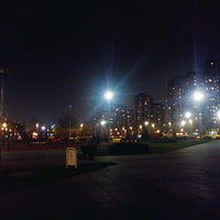 Photo taken at Park u bloku 62 by Sanja P. on 2/18/2014