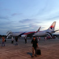 Photo taken at Sultan Ahmad Shah Airport (KUA) by Samuel T. on 5/16/2013